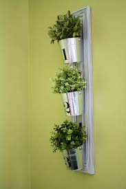 wall garden indoor 14 crazy cool vertical gardening ideas tin buckets door hooks