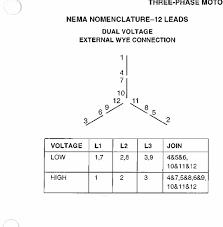 g e motor dual voltage 230 460 208 3 phase model no 5ks256ac205