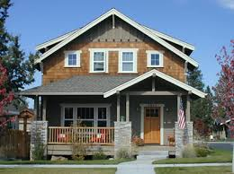 simple craftsman bungalow plans designed for a narrow lot