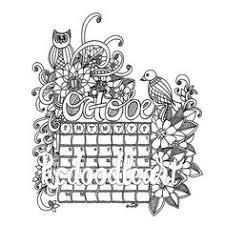 instant digital download coloring april 2016 calendar