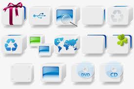 logiciel icone bureau icône de blanc de l ordinateur de bureau de logiciel blanc
