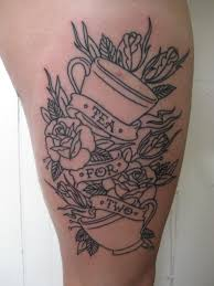 new teacup tattoo done on 6 12 on my very swollen right u2026 flickr