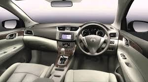 nissan sunny 2015 interior 2015 model nissan sylphy youtube