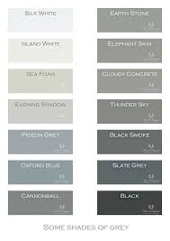 shades of gray names shades of grey color names home design