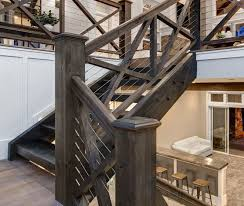 Railing Banister Best 25 Cable Railing Ideas On Pinterest Loft Railing Banister