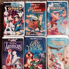 The Brave Little Toaster Dvd Find More Vhs Disney Hercules The Rescuers Down Under Brave