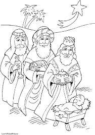 nativity scene coloring nativity christmas