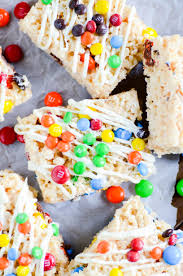 rice krispie treats for thanksgiving white chocolate rice krispies treats with m u0026ms something swanky