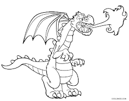printable dragon coloring pages kids cool2bkids