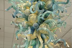 Teal Glass Chandelier Crocker Art Museum To Reveal New 8 Foot Chihuly Chandelier