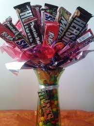 candy gift baskets thank you candy bouquet gift basket in hutchinson mn river