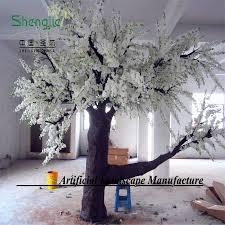 color wholesale wedding decorative plastic flower trees