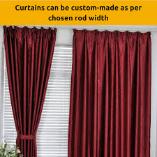 Sheer Maroon Curtains Blackout Maroon Fabric Bedroom Door Curtain Design Drapes