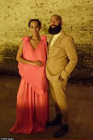 solange a seat at the table album solange knowles dons salmon dress at a seat at the table party with