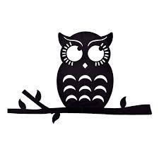 cute owl silhouettes