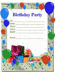 birthday invite template enchanting birthday invitation templates to make free birthday