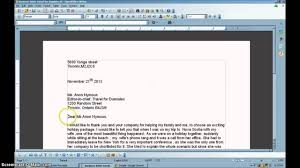 Write A Business Letter by Learn To Write A Business Letter Full Block Under 6 Minutes