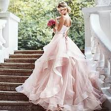 pink wedding dress best 25 blush pink wedding dress ideas on baby