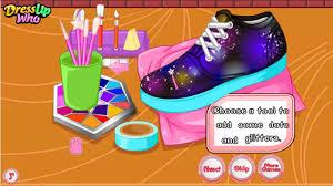 diy galaxy shoes game y8 com youtube