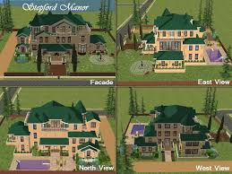 mod the sims the stepford project v final mansion by d d i