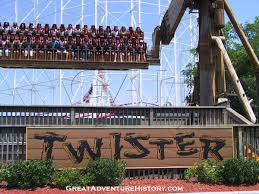 How Old To Work At Six Flags Twister At Six Flags Great Adventure