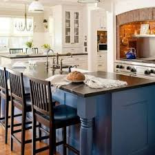 paint colors for kitchen blue walls with open shelves and oven and