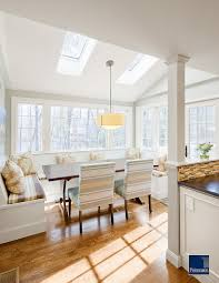 Cottage Dining Room Ideas by 27 Dining Rooms With Skylights That Steal The Show