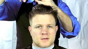 how to cut a pompadour fade haircut youtube