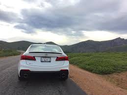 2018 acura tlx a spec rocky mtn real world test review the