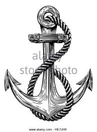 engraving of an anchor engraving cut out stock images u0026 pictures