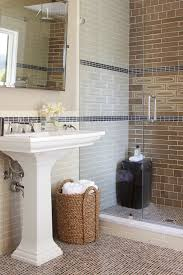 ceramic tile shower bathroom contemporary with bamboo bathroom