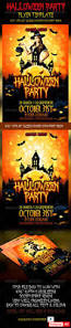 halloween party flyers templates graphicriver halloween party flyer 3 9072026 all design