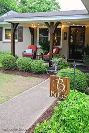 the butlers front porch