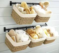 ideas for bathroom accessories small bathroom accessories ideasa a a green and yellow basket