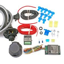 13 pin universal towbar wiring kit inc bypass relay universal