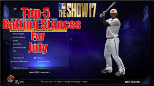 17 Best Images About Mlb - mlb the show 17 top 5 batting stances to try in july youtube
