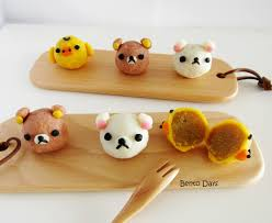 rilakkuma snowskin mooncakes cute deco mooncakes recipes