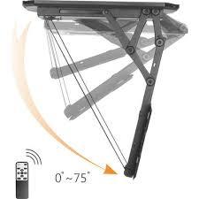 porta tv soffitto supporto a soffitto per tv 58 4 cm 23 139 7 cm 55