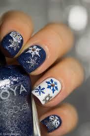 best 25 snowflake nail design ideas only on pinterest snowflake
