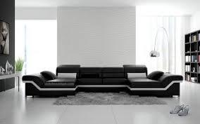 canapé d angle en cuir italien design et pas cher modèle maéva