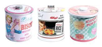 boite metal cuisine pour la cuisine des accessoires et de la vaisselle vintage maisons