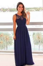 navy maxi dress with pleated lace top long dress u2013 saved by the