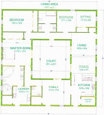 courtyard style house plans style house plans home design floor small modern