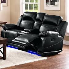 Loveseat With Recliner Loveseat La Z Boy James Power Reclining Loveseat With Console