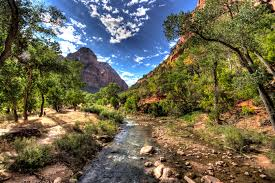 most beautiful parks in the us states zion national parks view