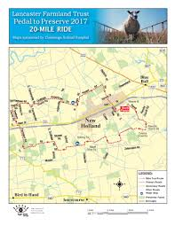 Amish Pennsylvania Map by Pedal To Preserve 2017 New Holland Pa 2017 Active