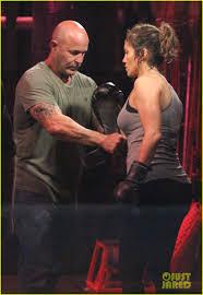 jennifer lopez bares her boxing gloves for u0027shades of blue