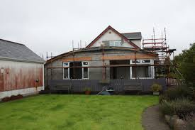 slideshow of 2x extensions to dormer bungalow by self builder