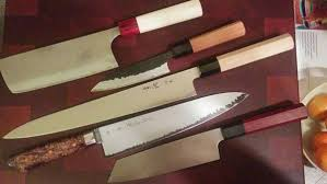 custom kitchen knives designing a custom kitchen knife a b b member s experience