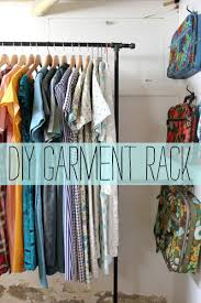 Galvanized Pipe Clothes Rack Garment Rack D I Y U2013 A Beautiful Mess